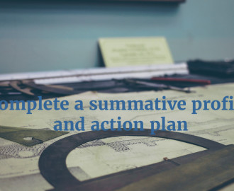 ptlls summative profile and action plan (action planning to outline the development of processes and systems to achieve sip goals -summative measures/results noted action plan template.