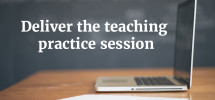 deliverteachingpracticesession